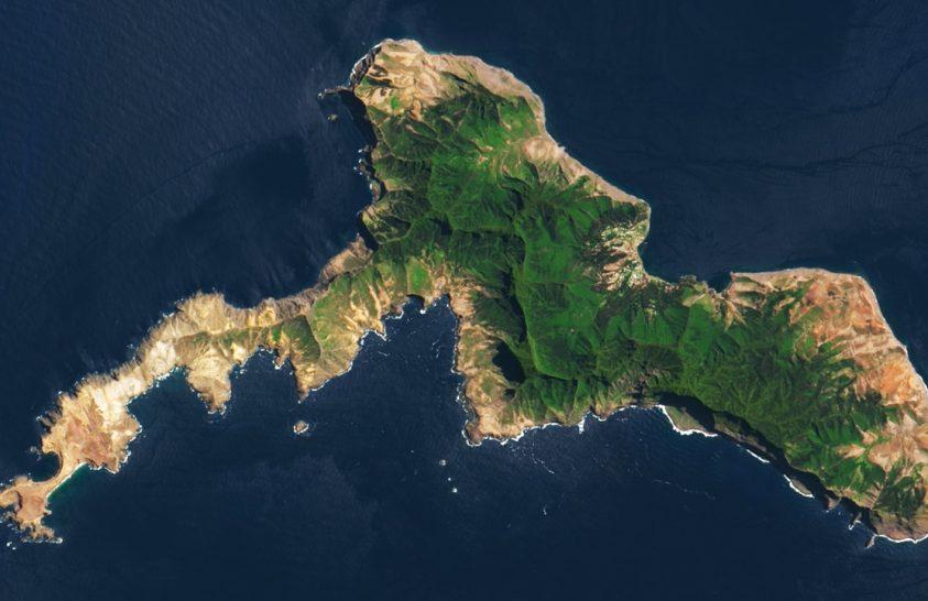 Az igazi Robinson Crusoe-sziget