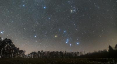 2021. január asztrofotója: A Vadász éjszakája