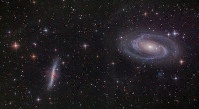 A nap képe: A Bode- és a Szivar-galaxis páros