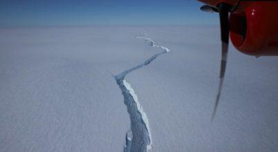 Ismét levált egy hatalmas jéghegy az Antarktiszról