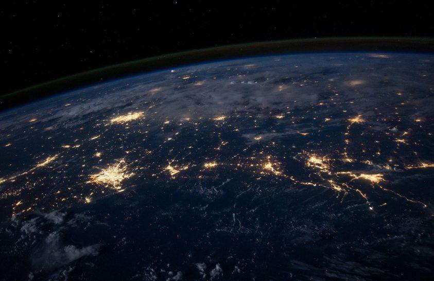 Az űrből örökítették meg a houstoni áramszünetet