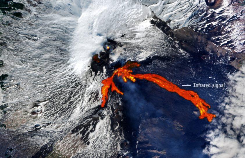 Kitörésben az Etna