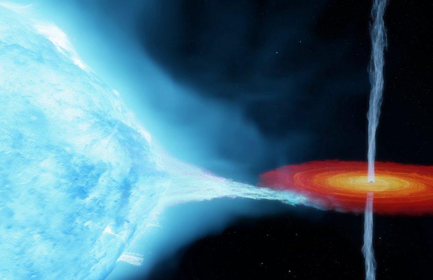 A vártnál nagyobb az első ismert fekete lyuk