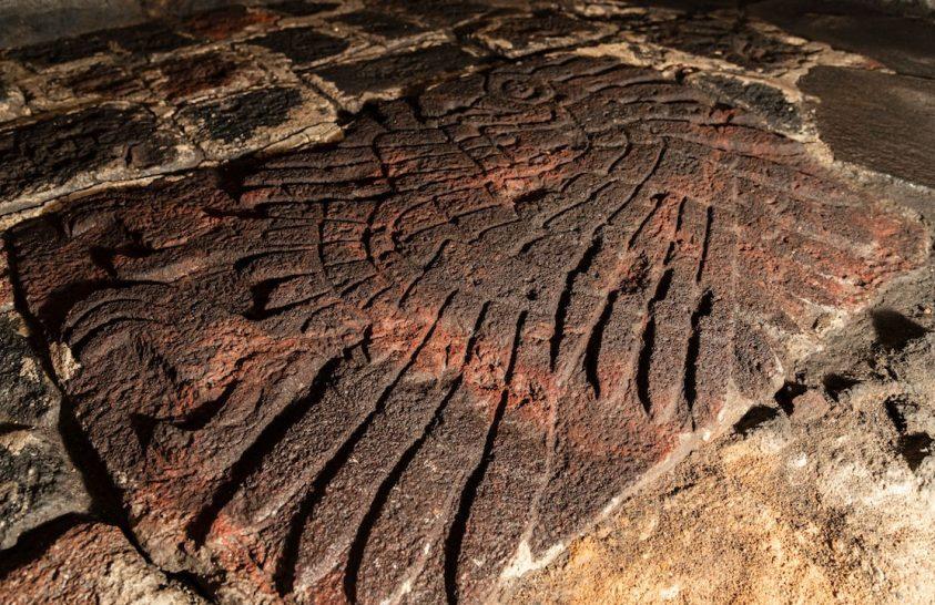 Lenyűgöző domborműre bukkantak egy azték templomnál