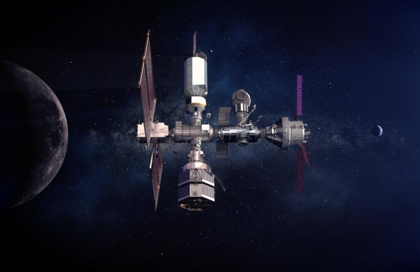 A SpaceX segítségével kezdődik meg a Hold-kapu létrehozása