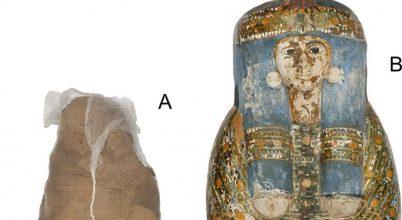 Műkereskedők átveréséről árulkodik egy egyiptomi múmia