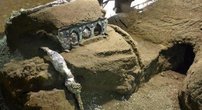 Kiváló állapotú, díszített ünnepi hintóra bukkantak Pompejinél