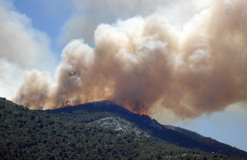 Erdőtüzek növelik a földcsuszamlások kockázatát