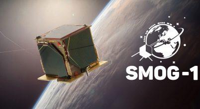 Sikeresen pályára állt és működik a SMOG-1