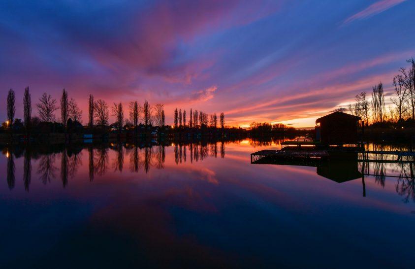 A nap képe: Sziluett