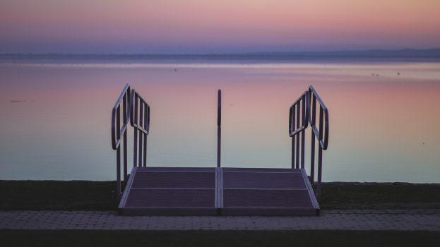 A nap képe: Pasztell Balaton