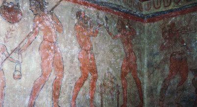 Rejtett részletekre bukkantak ősi etruszk festményeken