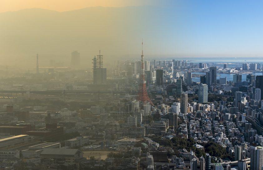 A korlátozások feloldásával növekszik a légszennyezés