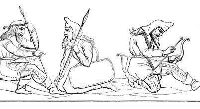 Úgy tűnik, a szkíták nem csak nomád életformát követtek