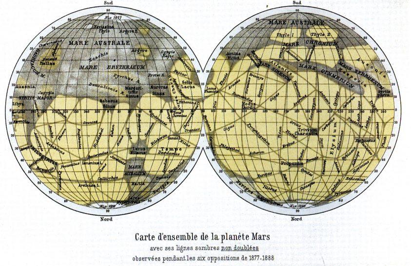 Miként születtek a marsi csatornák?