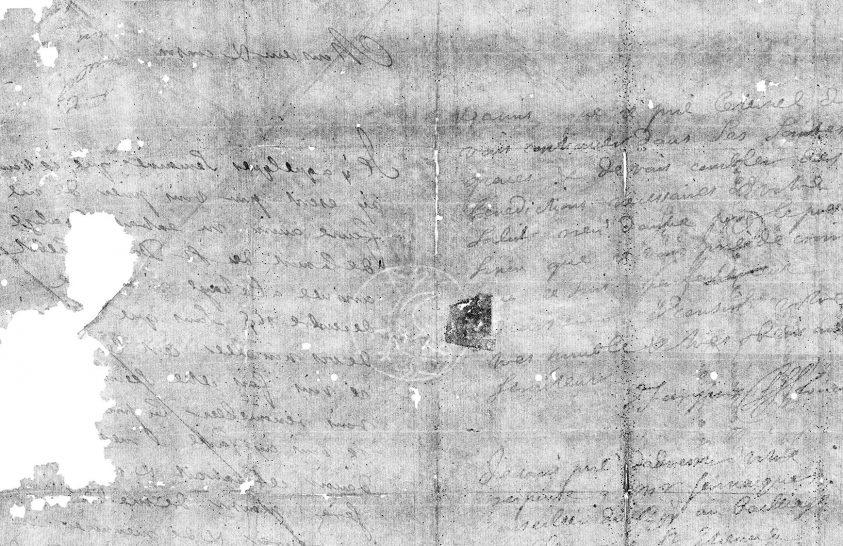 Több száz éve lezárt üzenetet olvastak el