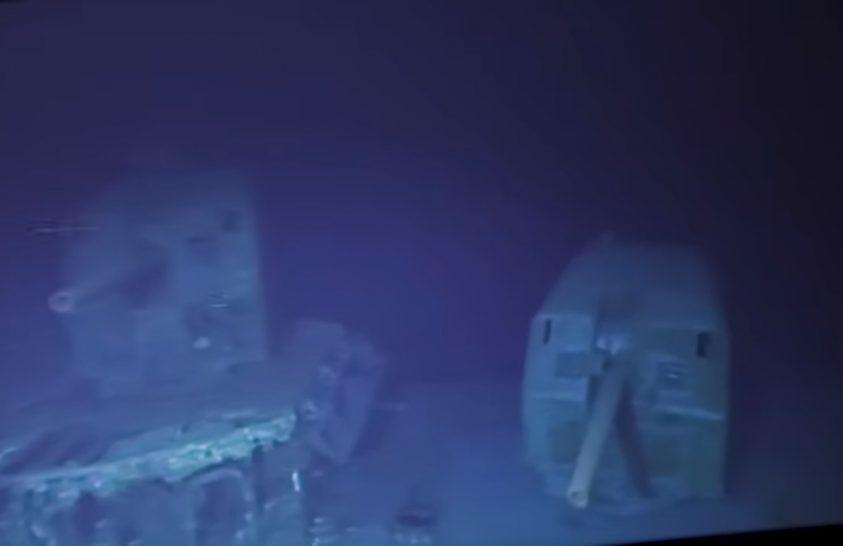 Elképesztő mélységben fekvő hajóroncshoz merültek le