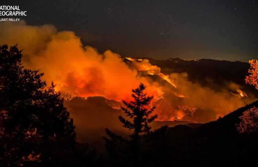 Erdőtüzek mérgező füstje