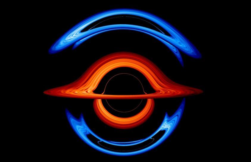 Így táncol egymás körül két fekete lyuk