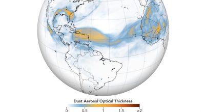 Aeroszolok légköri útját vizsgálták