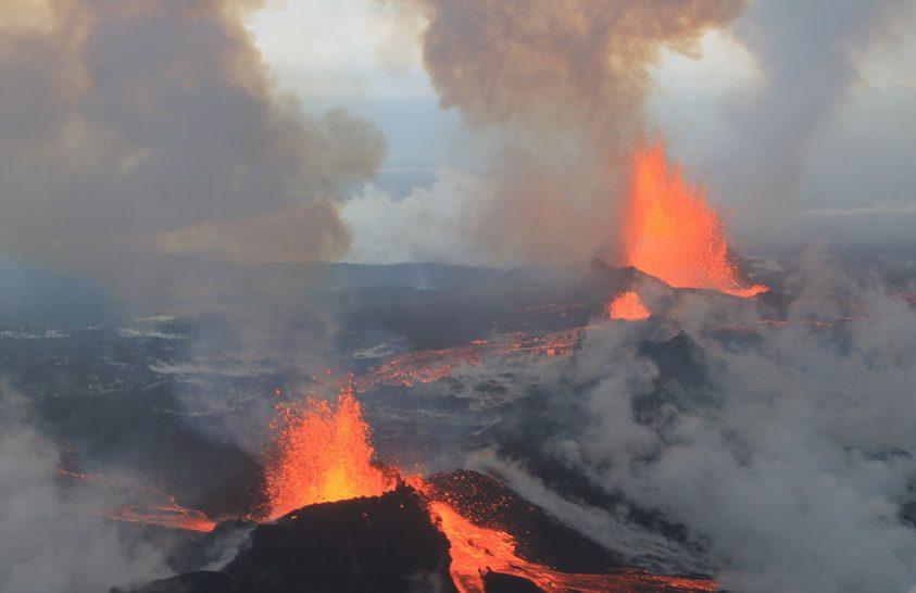 Az ártalmatlan vulkánkitörésnek is vannak veszélyei