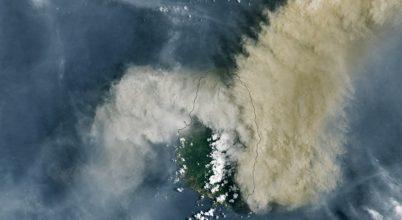 Veszélyes vulkánkitörés a Karib-tengeren