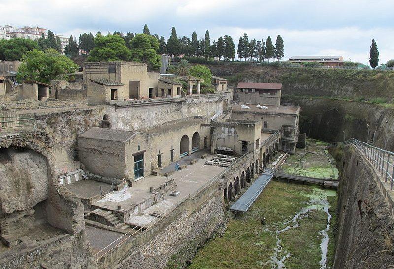 Magas rangú római katona maradványaira bukkantak Herculaneumnál