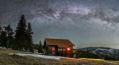 2021. május asztrofotója: Galaktikus házikó