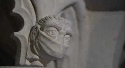 Maszkos faragványt kapott egy középkori székesegyház