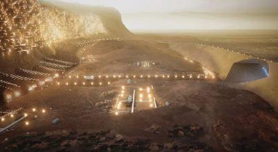 Íme Nüwa, a fenntartható marsi nagyváros