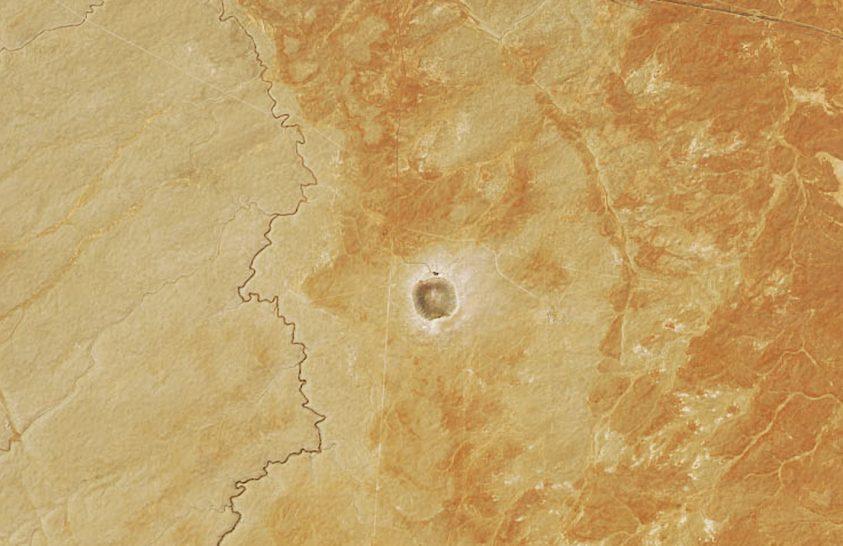 50 ezer éves gödör Arizonában