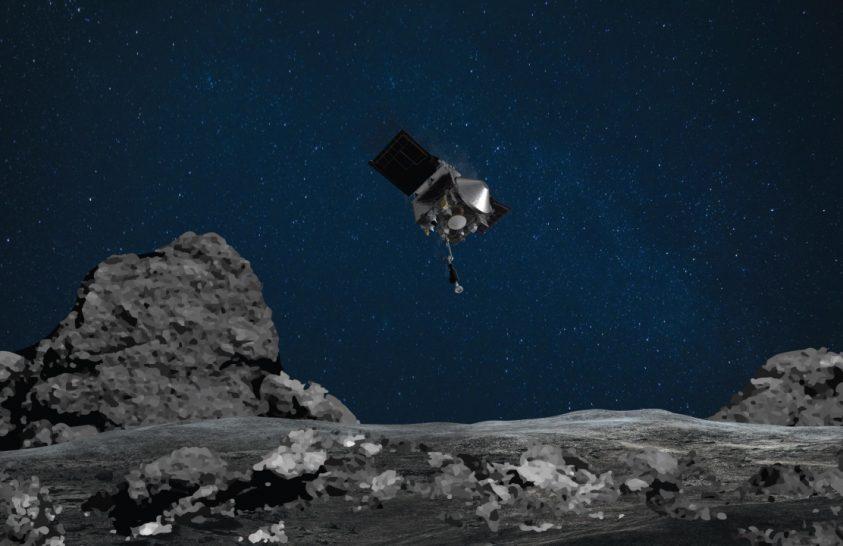 Elindult haza a NASA OSIRIS-REx űrszondája