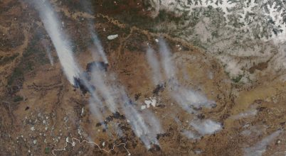 Szokatlanul korán kezdődött az orosz erdőtűz-szezon