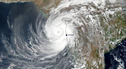 Trópusi ciklon érte el Indiát