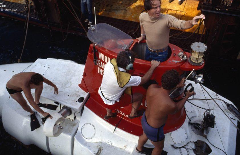 Ballard, a nagy tengerkutató