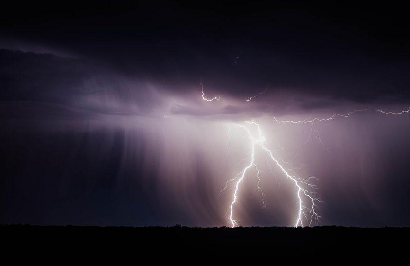 A villámok légtisztító hatásúak
