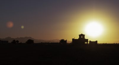 Naplemente Egyiptomban