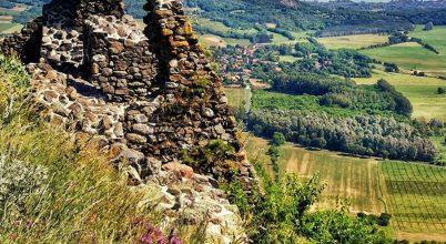 Nyár a Csobánc-hegyen