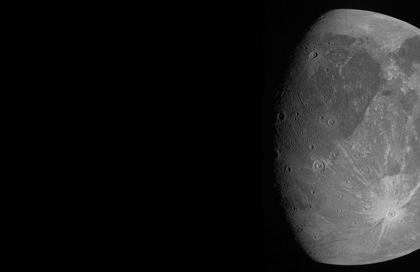 A Naprendszer legnagyobb holdját fotózta a Juno űrszonda