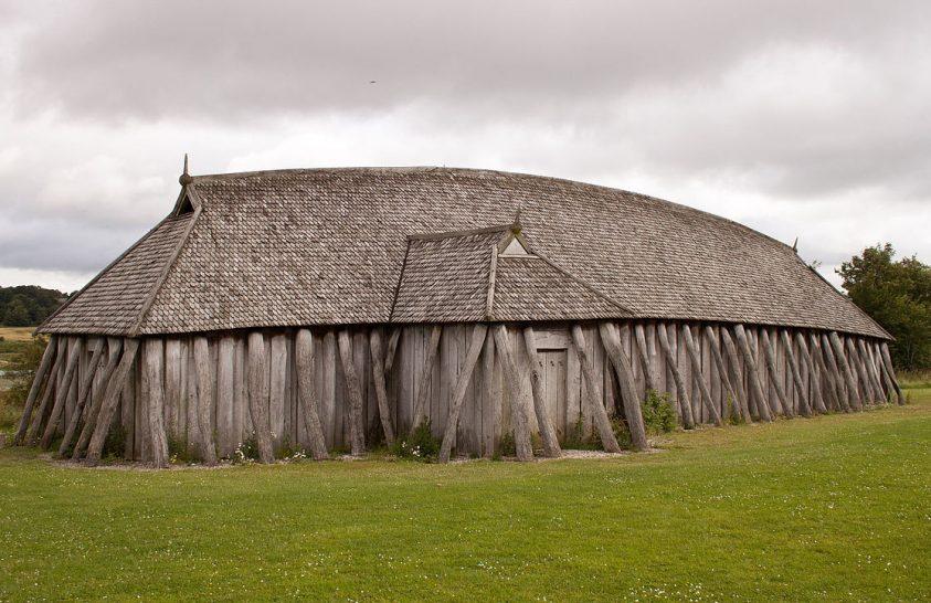 Így néz ki a levegőből egy korai viking település