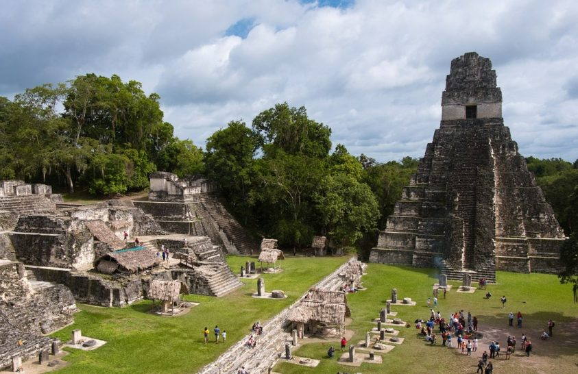 Már az ősi maják is parkosították városaikat