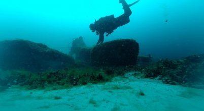 Őskori kőtárgyakat találtak a víz alatt