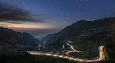 Csillagjárás a Transfogarasi út felett