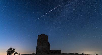 Hullócsillag a Csonka-toronynál