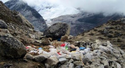 Mi lesz azzal a tengernyi hulladékkal a Mount Everesten?