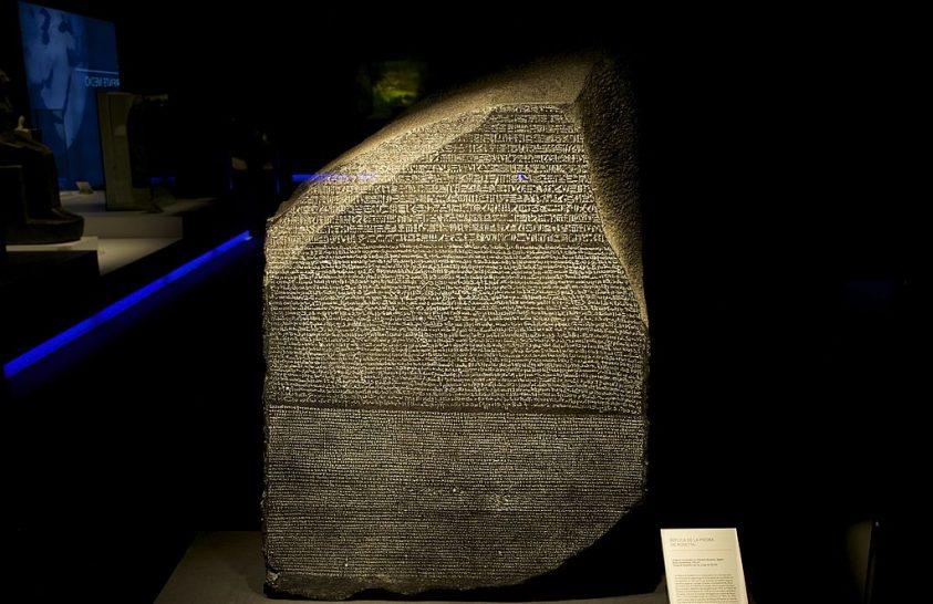 A rosette-i kő és az egyiptomi írások misztériuma