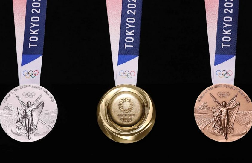 Különleges anyagból készültek a tokiói olimpiai érmek