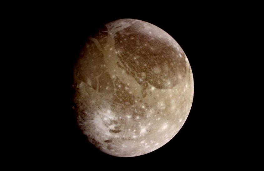 Vízpárát talált a Hubble a Ganymedes körül