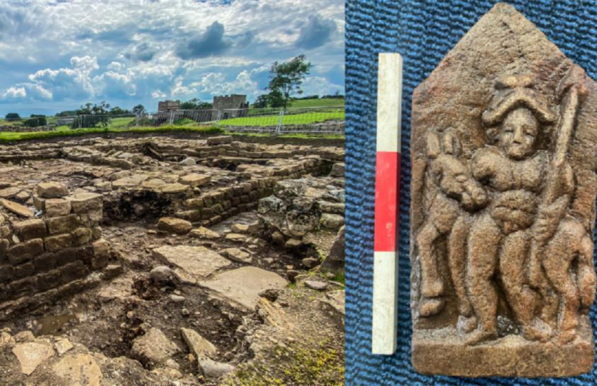 Titokzatos faragványt találtak Hadrianus falánál