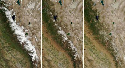 Hova tűnt a Sierra Nevada hava?
